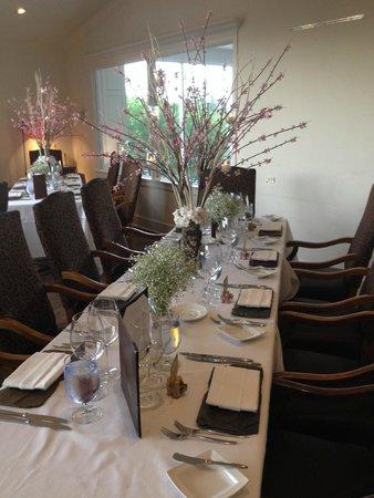 Dining Room - Wedding set up