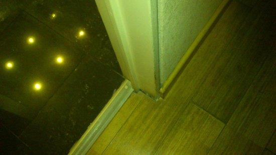 Amerian Cordoba Park Hotel: Piso desgastado...