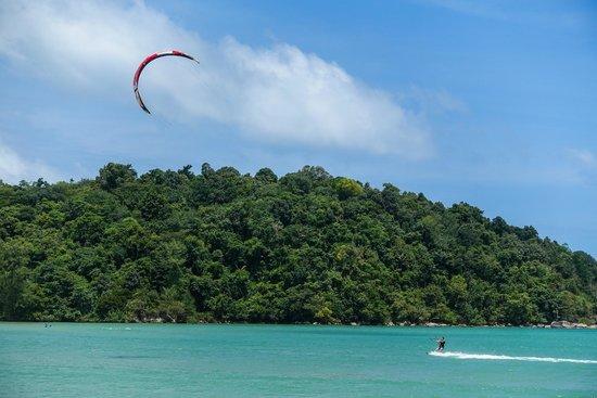 Kite Surfing at Kite Zone in Chalong Phuket