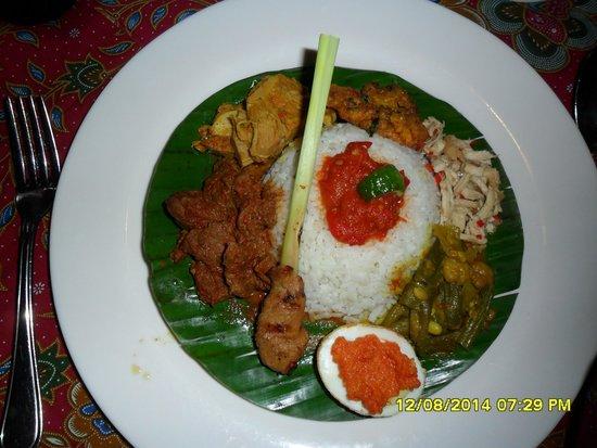 Poppies Restaurant: Nasi Campur