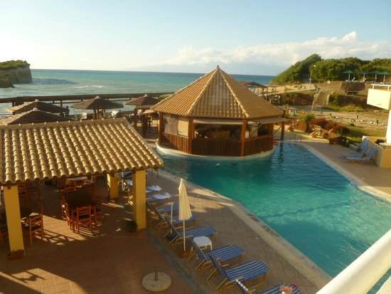 Bertos on the Beach: View from our Balcony