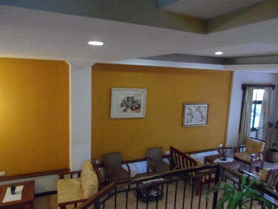 Cabanas Del Lenador Hotel: Recepción