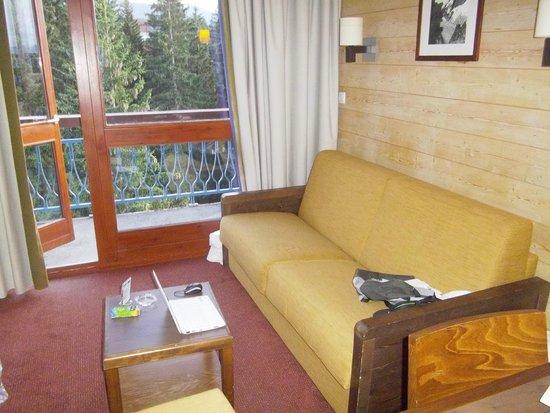 canap convertible photo de pierre vacances r sidence le belmont les arcs tripadvisor. Black Bedroom Furniture Sets. Home Design Ideas