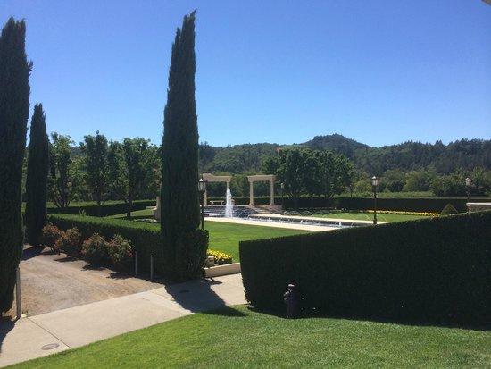 Ferrari-Carano Winery: The grounds