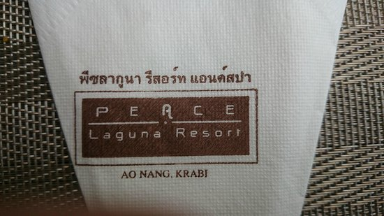 Peace Laguna Resort and Spa: dining experience