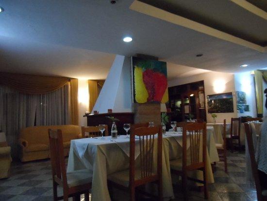 Cabanas Del Lenador Hotel: Comedor