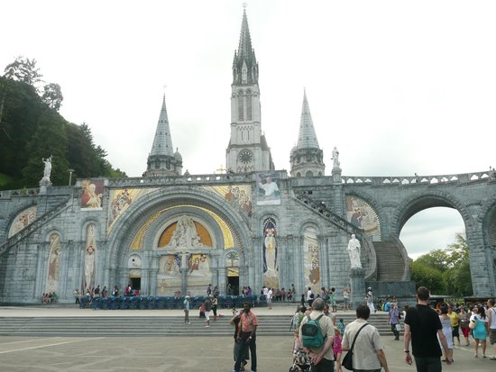 Sanctuary of Our Lady of Lourdes: The Basilica (the Old and New)