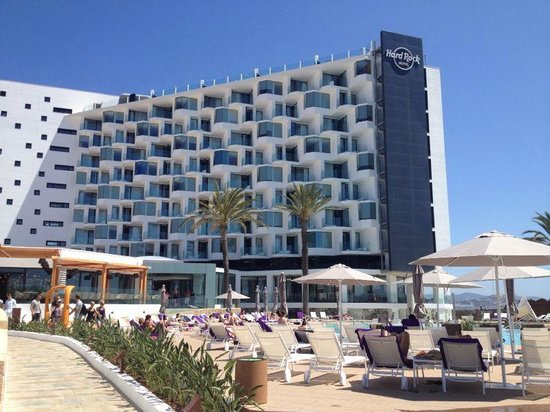 zona del spa exterior picture of hard rock hotel ibiza playa d 39 en bossa tripadvisor. Black Bedroom Furniture Sets. Home Design Ideas