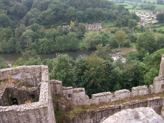 Ludlow Castle: view from the great tower