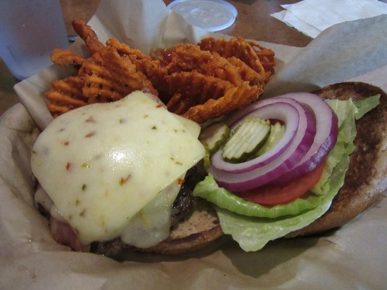 cheese burger picture of frey 39 s backyard cafe tomball tripadvisor