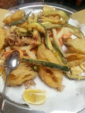 Osteria del Girasole: gran fritto