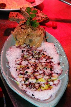 Restaurant Valentin: Thunfisch Sizilana/Oktopus