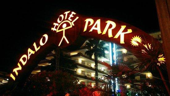 Hotel Indalo Park : Центральный вход в отель