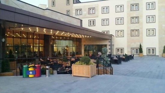 Ramada Cappadocia: a part of hotel..