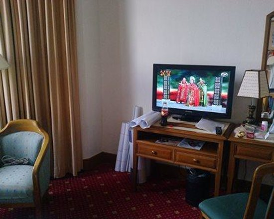 Promenade Hotel: Flat screen Tv no sound