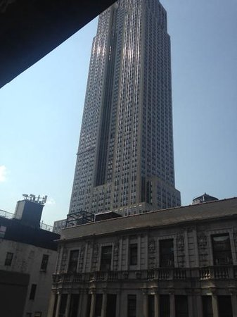 Hotel Metro : rooftop view