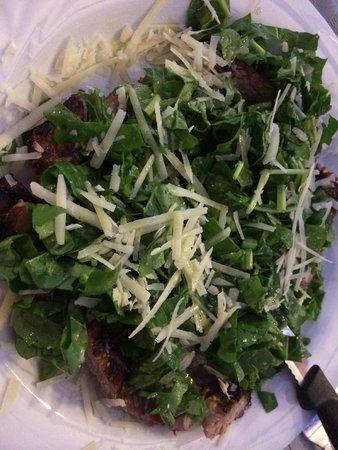 Agriturismo La Vecchia Fattoria : Tagliata rucola e parmigiano