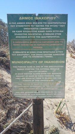 Playa de Elafonisi: The pink sand rule