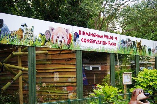 Birmingham Wildlife Conservation Park: The Park Cages for animals