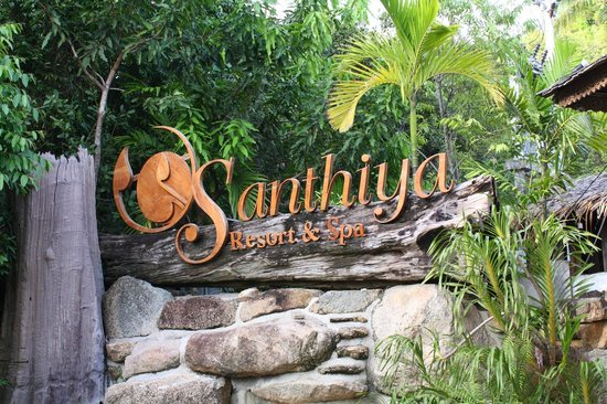 Santhiya Koh Phangan Resort & Spa: cartel