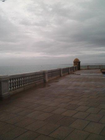 Parador de Cádiz: Passeio