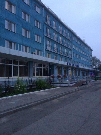 Vozdushnaya Gavan: фасад отеля