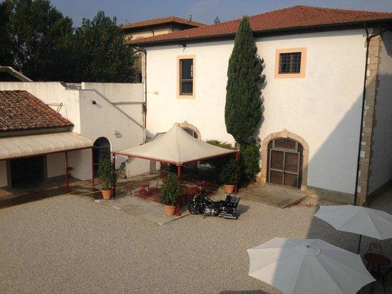 Residenza del Granduca: un'altra vista dalla mia camera
