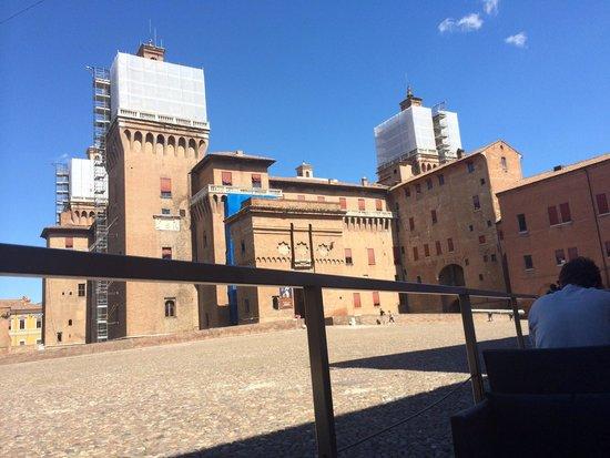 Castello Estense: From the hotel