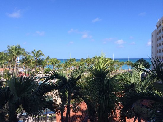 Hyatt Regency Aruba Resort and Casino: View from our room!