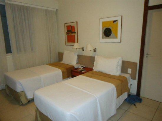 Tulip Inn Rio Copacabana: Quarto standard no 5º andar.