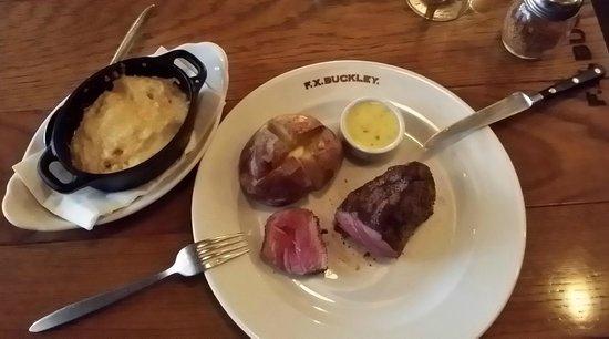 F.X. Buckley Steakhouse: 8oz F.X.BUCKLEY Rump Steak 32 Day Dry-Aged