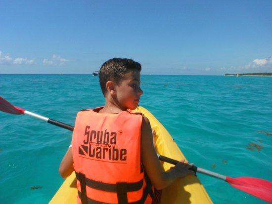 ClubHotel Riu Tequila: Kayaking