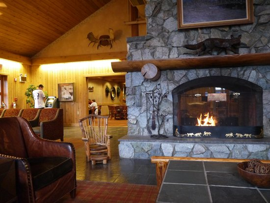 Mt. McKinley Princess Wilderness Lodge: The main lodge