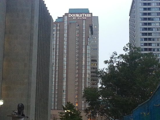 DoubleTree by Hilton Hotel Toronto Downtown : The Doubletree Downtown Toronto