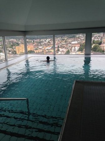 Swissotel Zürich: views!