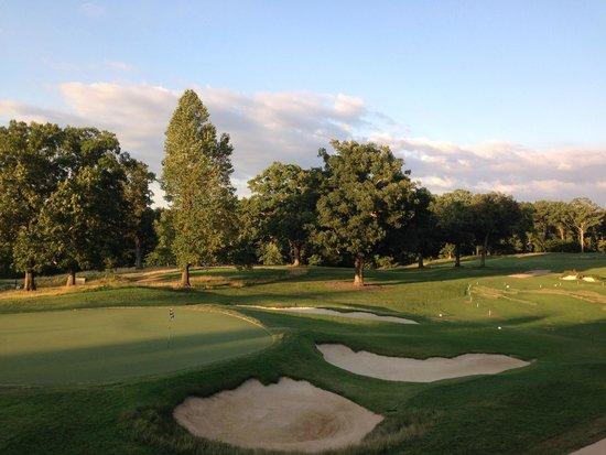 The Sewanee Inn: Golf course views are relaxing