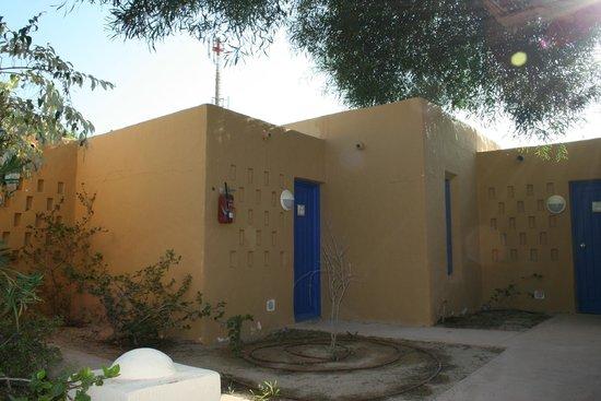 Club Med Djerba la Douce: bugalows coté amphore - au bout du village - antenne au dos