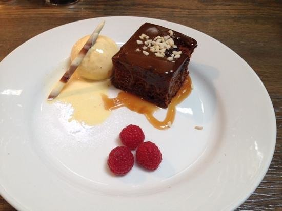 Darcy's: sticky toffee pudding ..