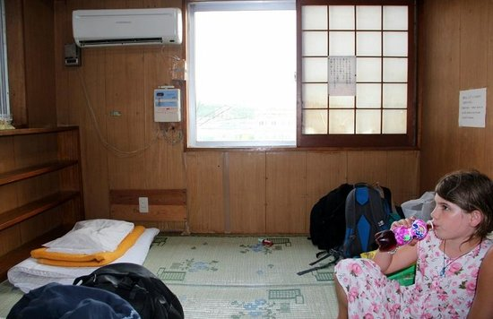 Minshuku Green House: our room on 4th floor