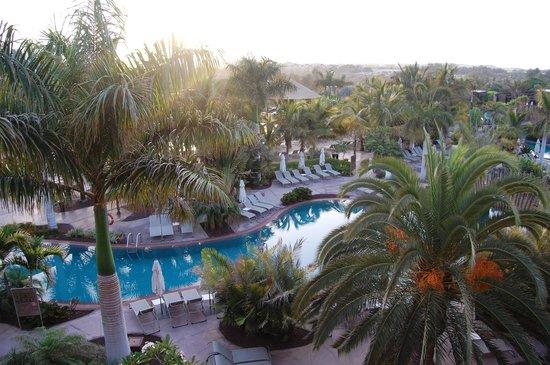 Lopesan Baobab Resort : vue de notre chambre