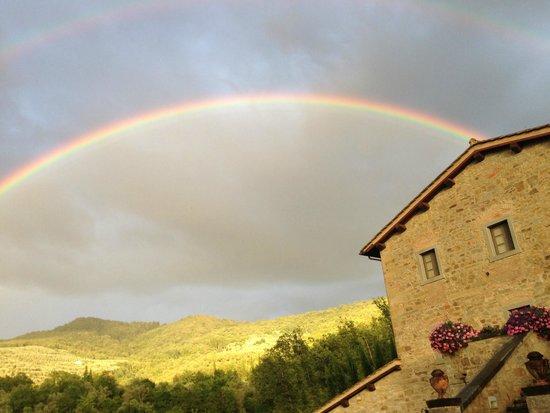 Casa Portagioia: ...nach einem kurzen Schauer