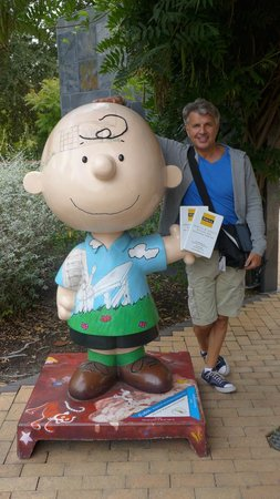 Charles M. Schulz Museum: Me and Charlie Brown