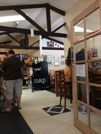 Sassafras Cafe : Interior of Sassasfras Cafe