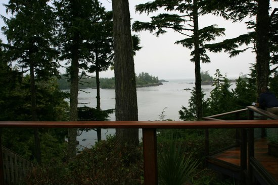 A Snug Harbour Inn: View from the balcony of the Valhalla Room