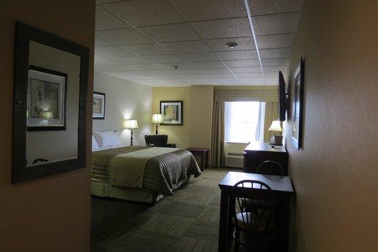 Longlac, Canadá: 2nd floor - king room