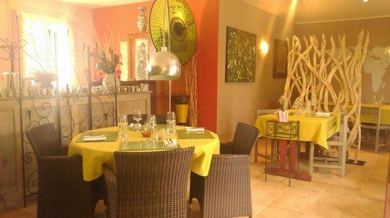 Saveurs des Iles : Salle à manger