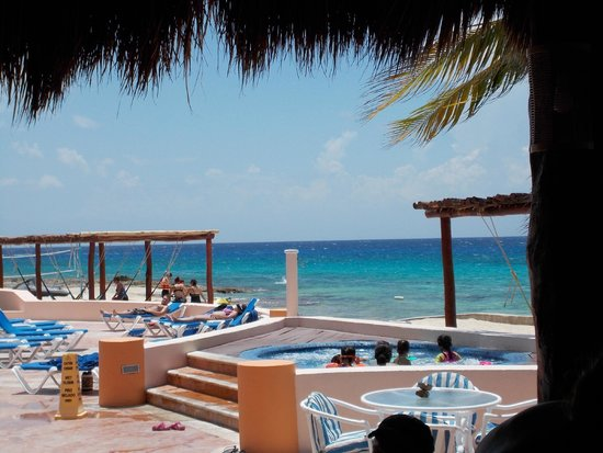 El Cozumeleno Beach Resort: This view never gets old