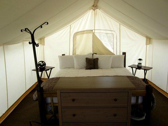 Under Canvas Moab: Safari-Zelt von Innen