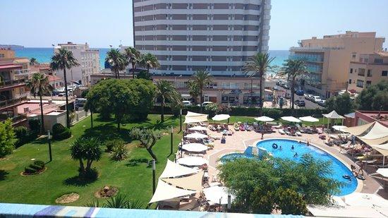 Hotel Helios Mallorca: vue du balcon