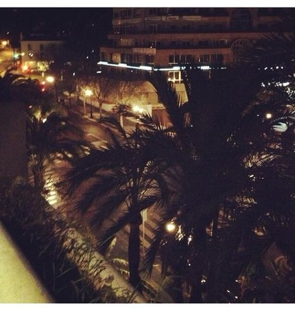 Hotel Sultan Club Marbella : View from front facing balcony